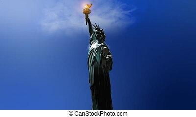 статуя, свобода