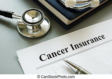 стетоскоп, политика, desk., страхование, рак