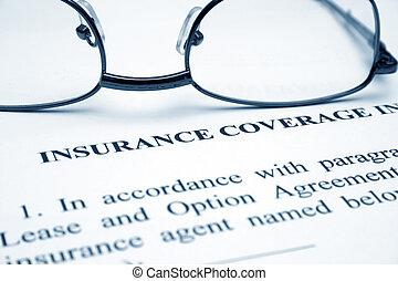 страхование, охват