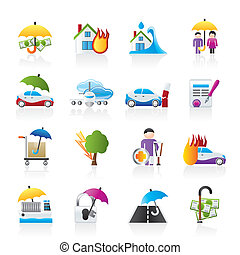 страхование, риск, icons