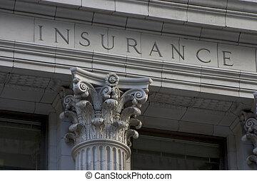 страхование, столб