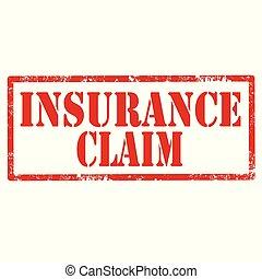 страхование, claim-stamp