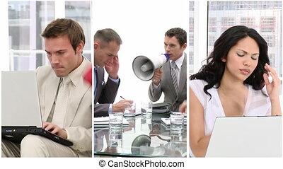 стресс, в, бизнес