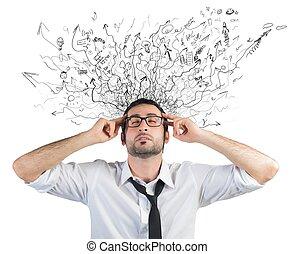 стресс, and, путаница