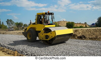 строительство, дорога