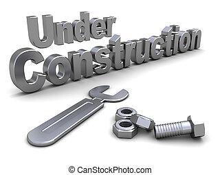 строительство, под