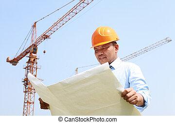 строительство, работник