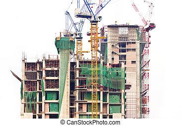 строительство, building.