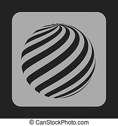 сфера, значок