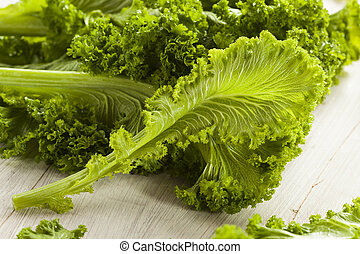 сырье, органический, горчичный, greens