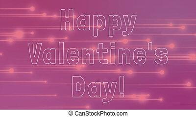 текст, valentines, день, счастливый