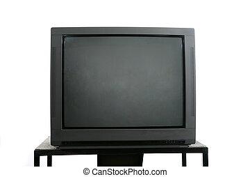 телевидение, монитор, стоять