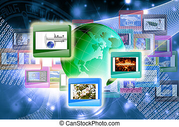 , технологии, интернет