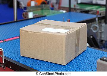 транспорт, коробка