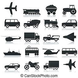 транспорт, icons