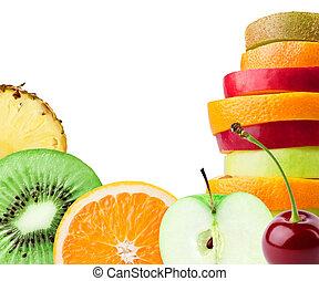 тропический, fruits