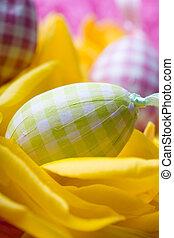тюльпан, eggs, пасха, желтый, petals