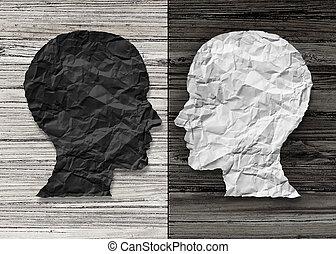 умственный, здоровье, биполярный