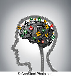 умственный, стресс