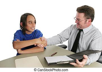 успешный, интервью, работа