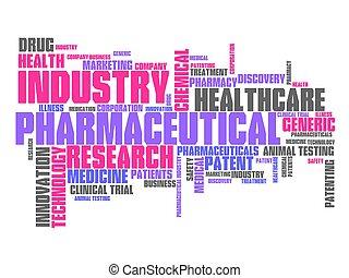 фармацевтическая, промышленность