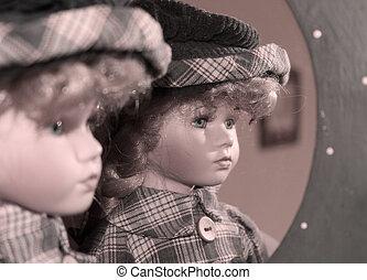 фарфор, кукла