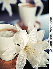 фарфор, cups, of, кофе