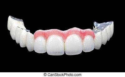 фарфор, teeth