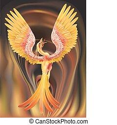 феникс, иллюстрация