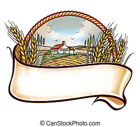ферма, embleme