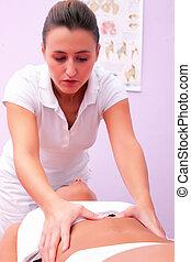 физиотерапия, диафрагмальный, массаж