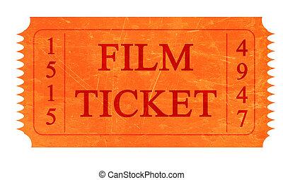 фильм, билет