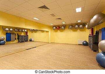 фитнес, гимнастический зал