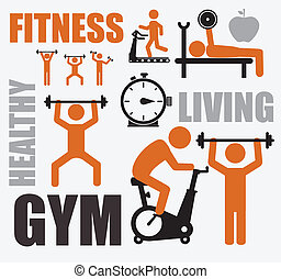 фитнес, дизайн