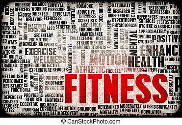 фитнес, концепция