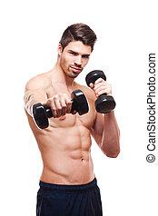 фитнес, model.
