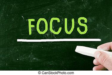 фокус, концепция