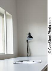 форма, стол письменный, заявление, ручка, чернила, белый, лежащий