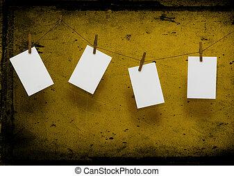 фото, бумага, сушка