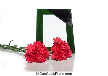 фото, рамка, зеленый