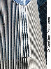 фрагмент, of, , современное, здание