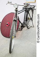 фронт, of, , марочный, велосипед