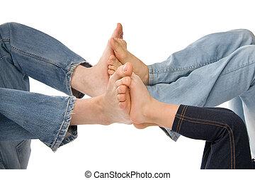 фут, children's, men's, woman's, ноги