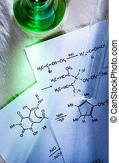 химия, зеленый