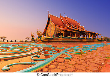 храм, sirindhorn, wararam