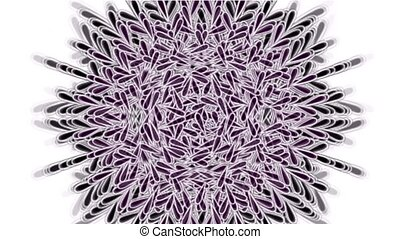 цветок, мандала, шаблон, текстура, религия, ретро, перо