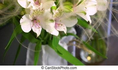 цветочный, магазин, букет, современное, цветы