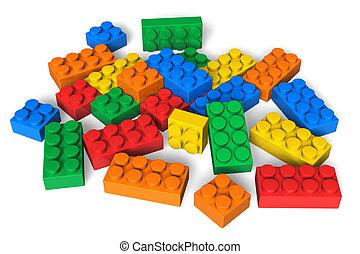 цвет, здание, blocks