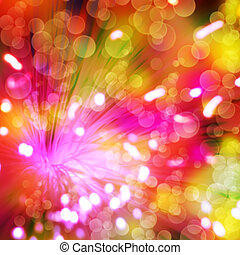 цвет, lines, абстрактные, backgrounds, пылающий, bokeh