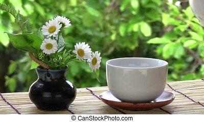 чай, зеленый